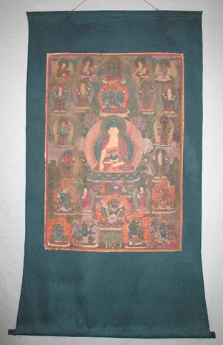 Bild: Buddha Gautama, Gesamtansicht Vorderseite, nach der Restaurierung